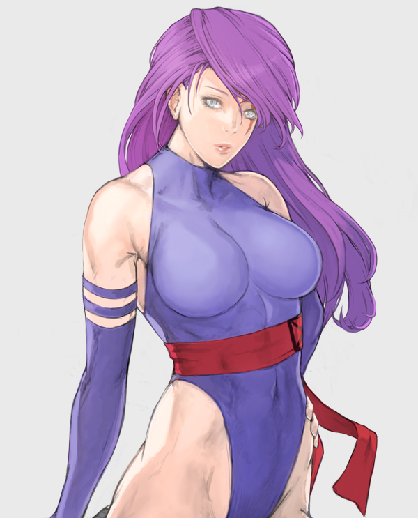 psylocke (marvel and x-men) drawn by take no ko (dodon)