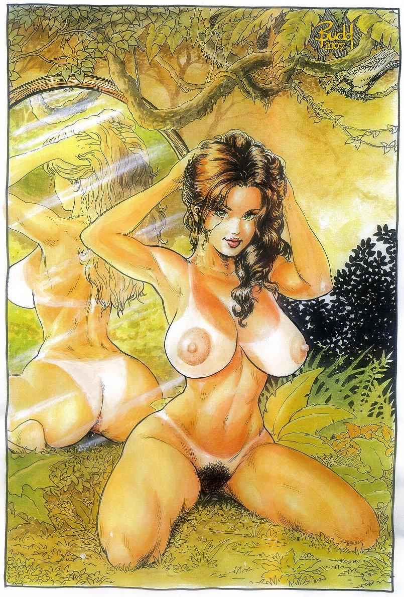 Cavewoman Trixie Stripping Leopard Bikini On The Rocks