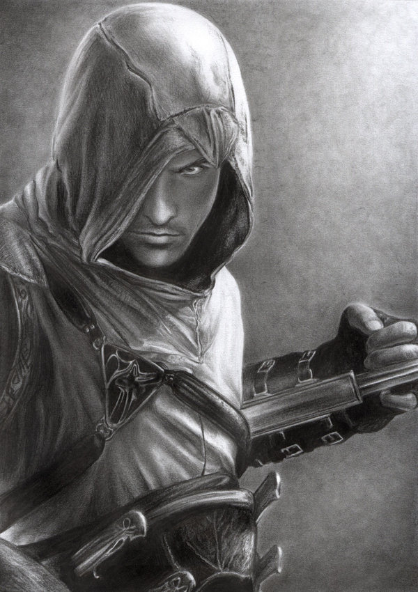 Altair Ibn La Ahad Assassin S Creed And 1 More Drawn By D17rulez Danbooru