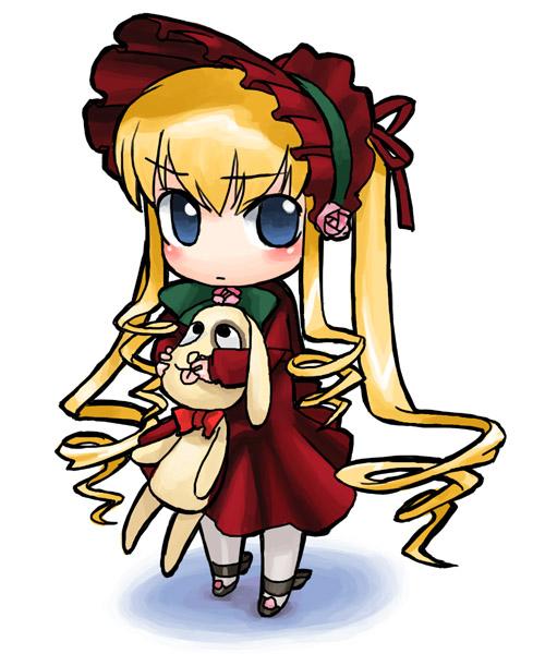 kunkun and shinku (rozen maiden)