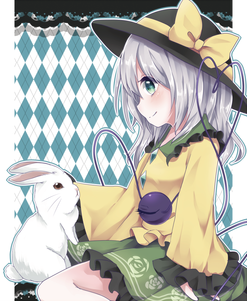 komeiji koishi (touhou) drawn by yuria (kittyluv)
