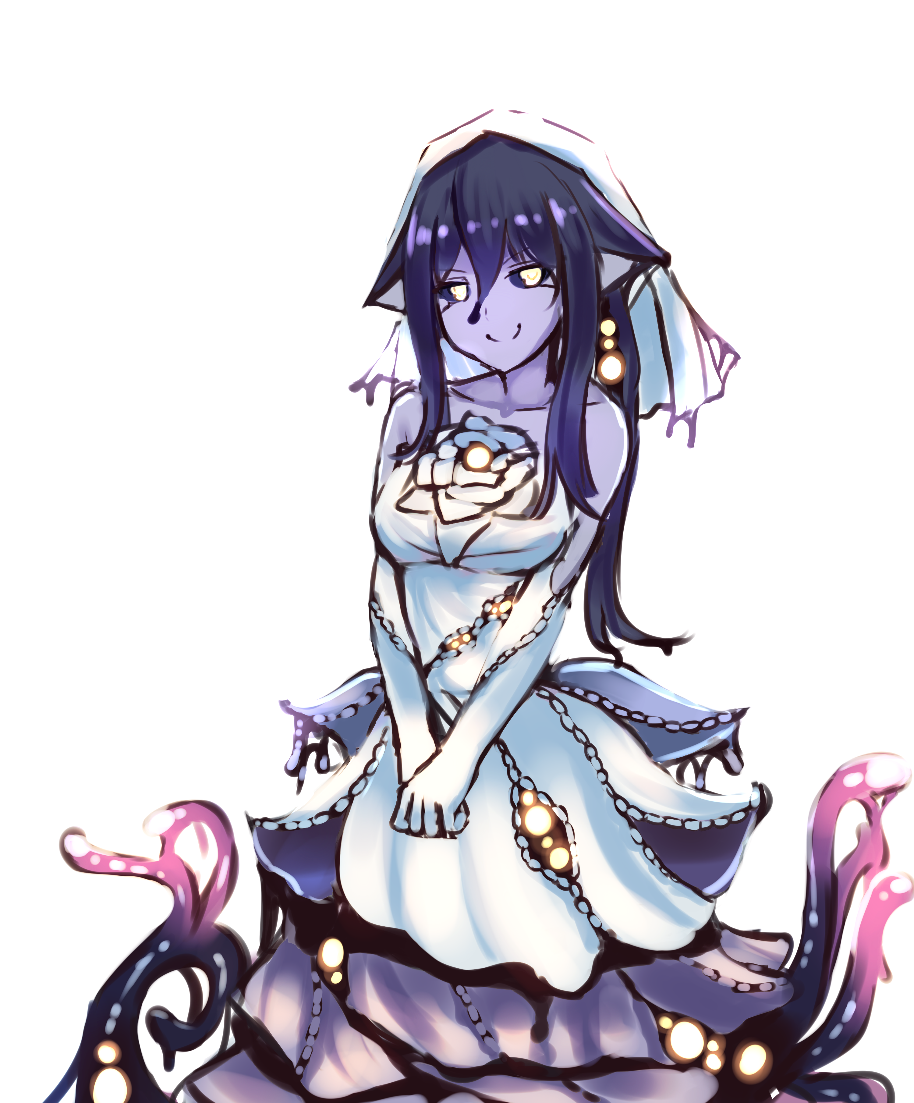 Dating sim where girl is eldritch abomination