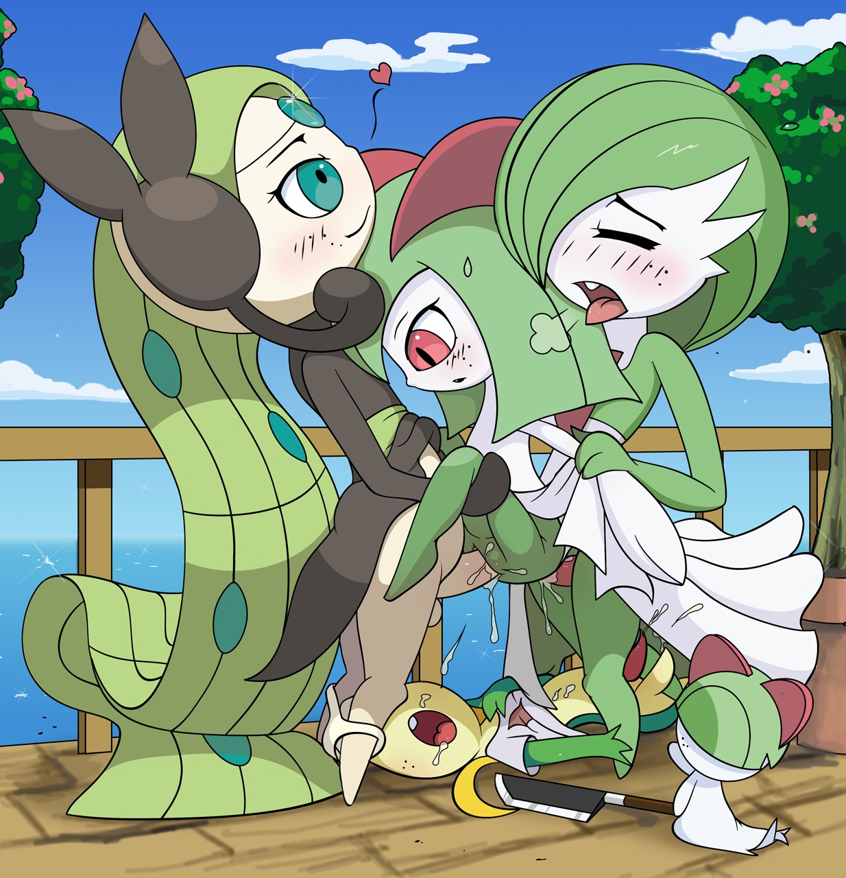 Photographer young gardevoir porno