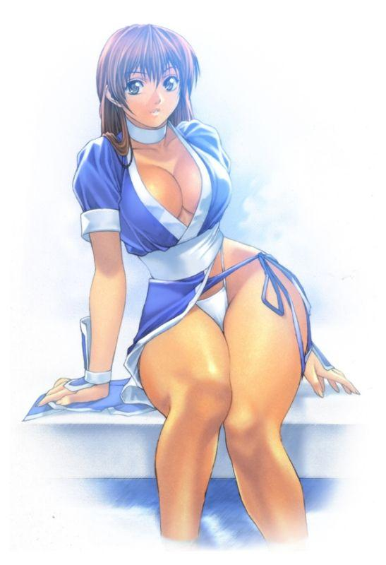 kasumi (dead or alive) drawn by homare (fool's art)