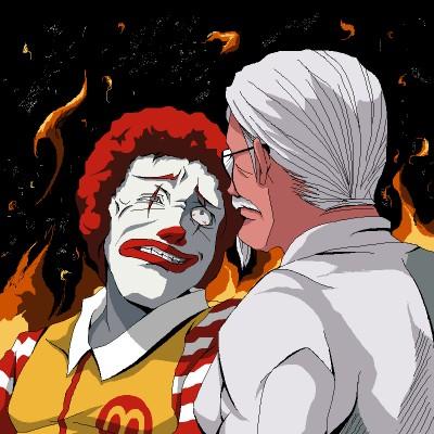 can mcdonalds de throne the colonel in