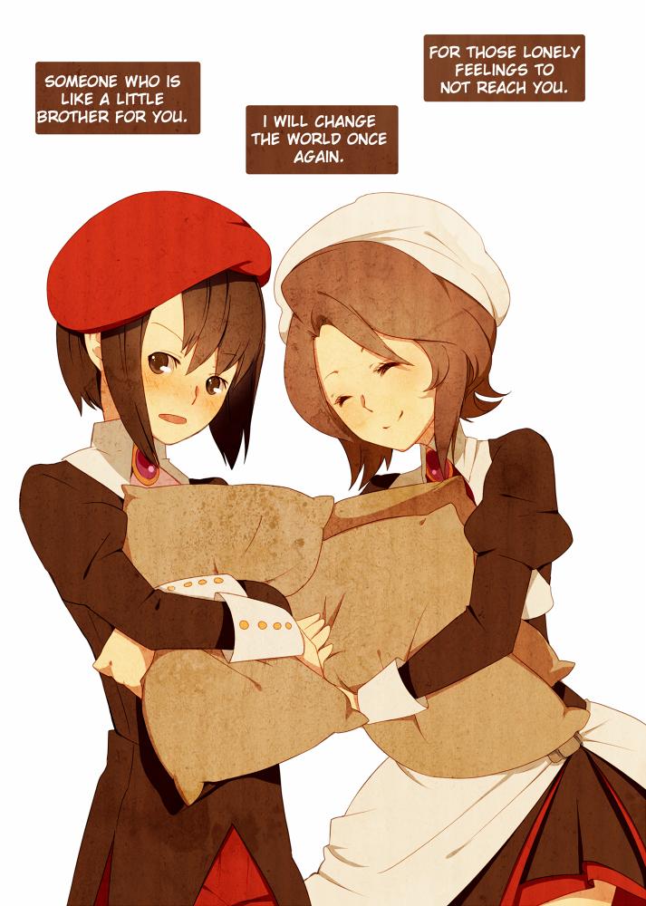 kanon and shannon (umineko no naku koro ni) drawn by ai-wa