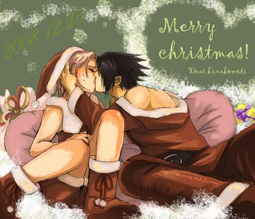 las mejores imagenes navideñas de NARUTO :D
