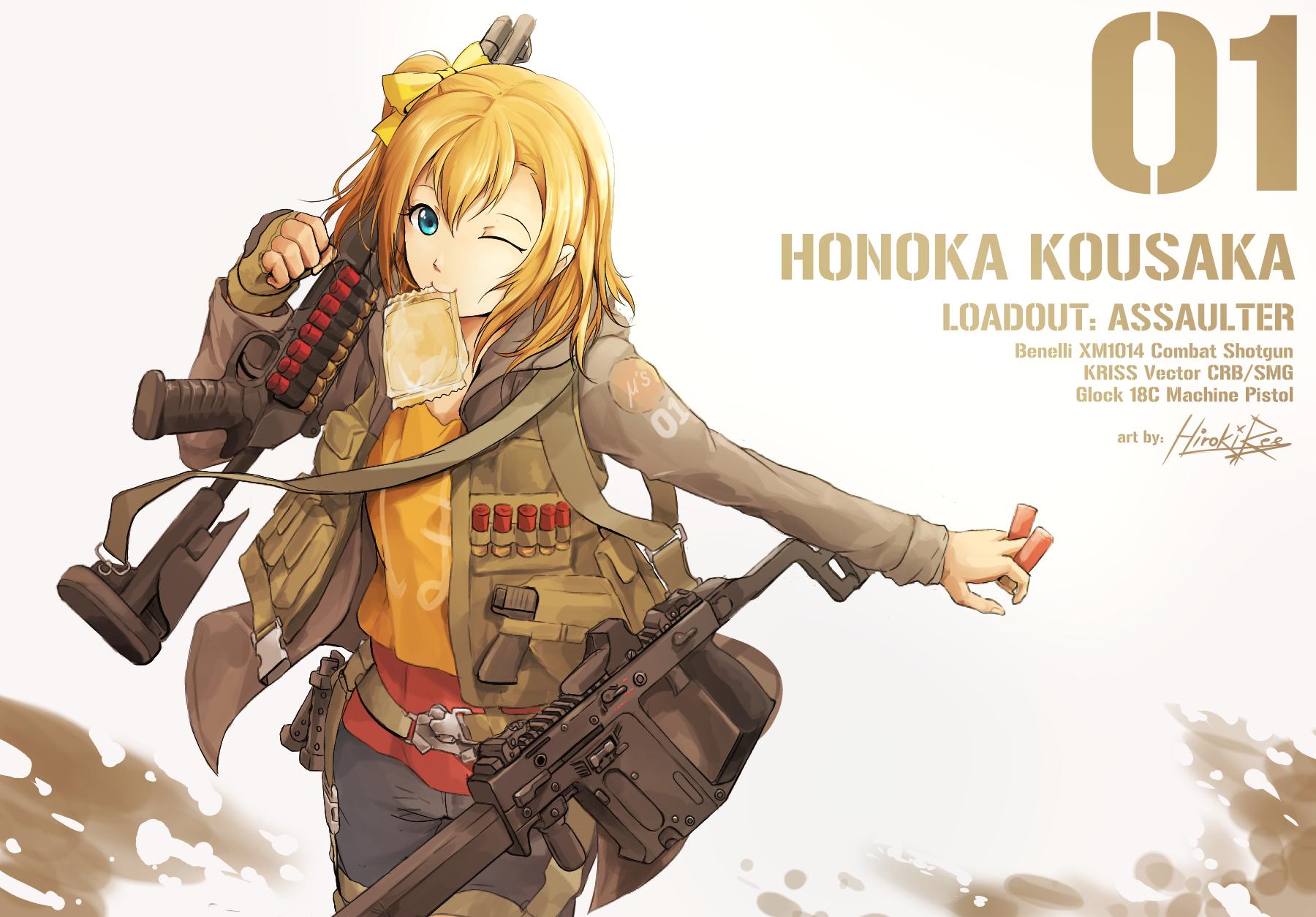 kousaka honoka (love live! and love live! school idol ...