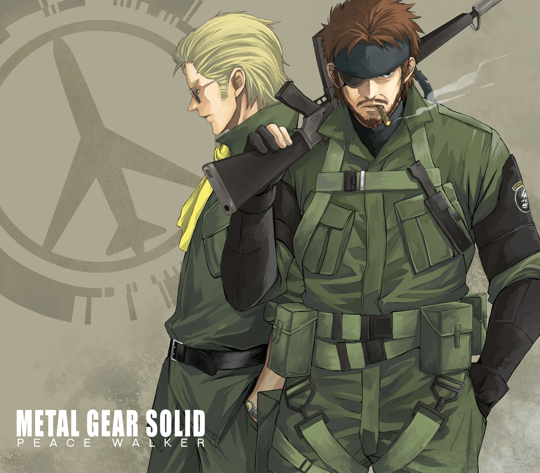 Big Boss Naked Snake And Kazuhira Miller Metal Gear And 1 More Danbooru Fanart sketch of kazuhira miller/benedict miller/mcdonell miller from the popular video game franchise, metal gear solid. big boss naked snake and kazuhira