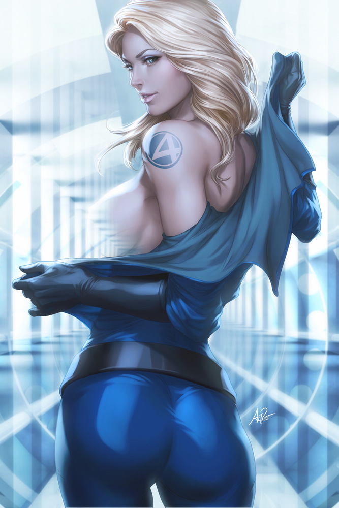 Invisible woman fantastic four storm sue