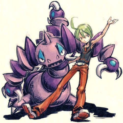 drapion and ryou (pokemon) drawn by meimaru inuchiyo