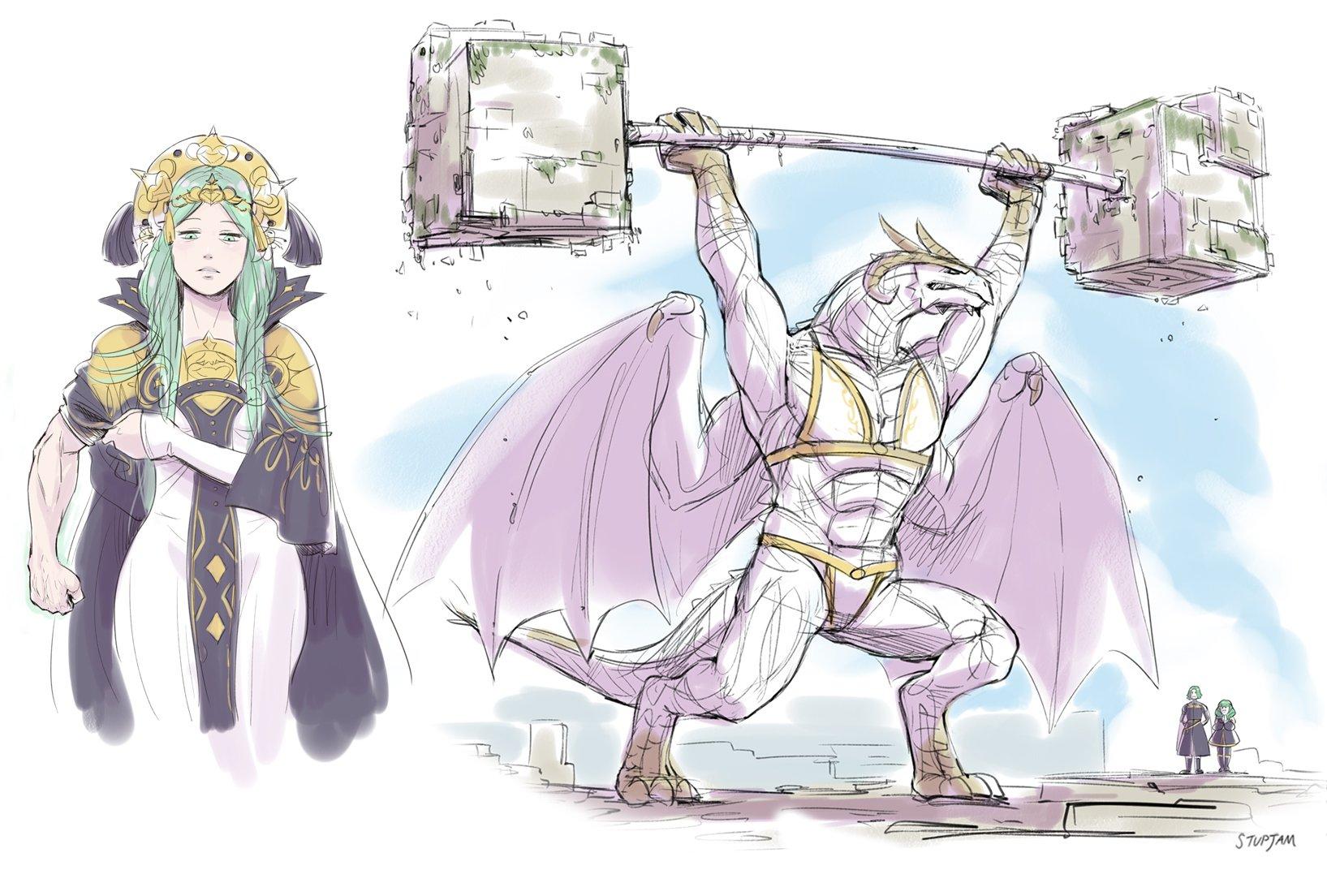 Flayn Rhea Seteth And The Immaculate One Fire Emblem And