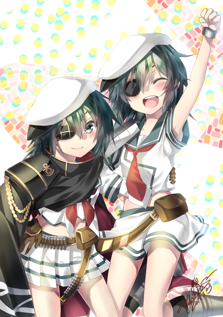 kiso (kantai collection) drawn by yuihira asu