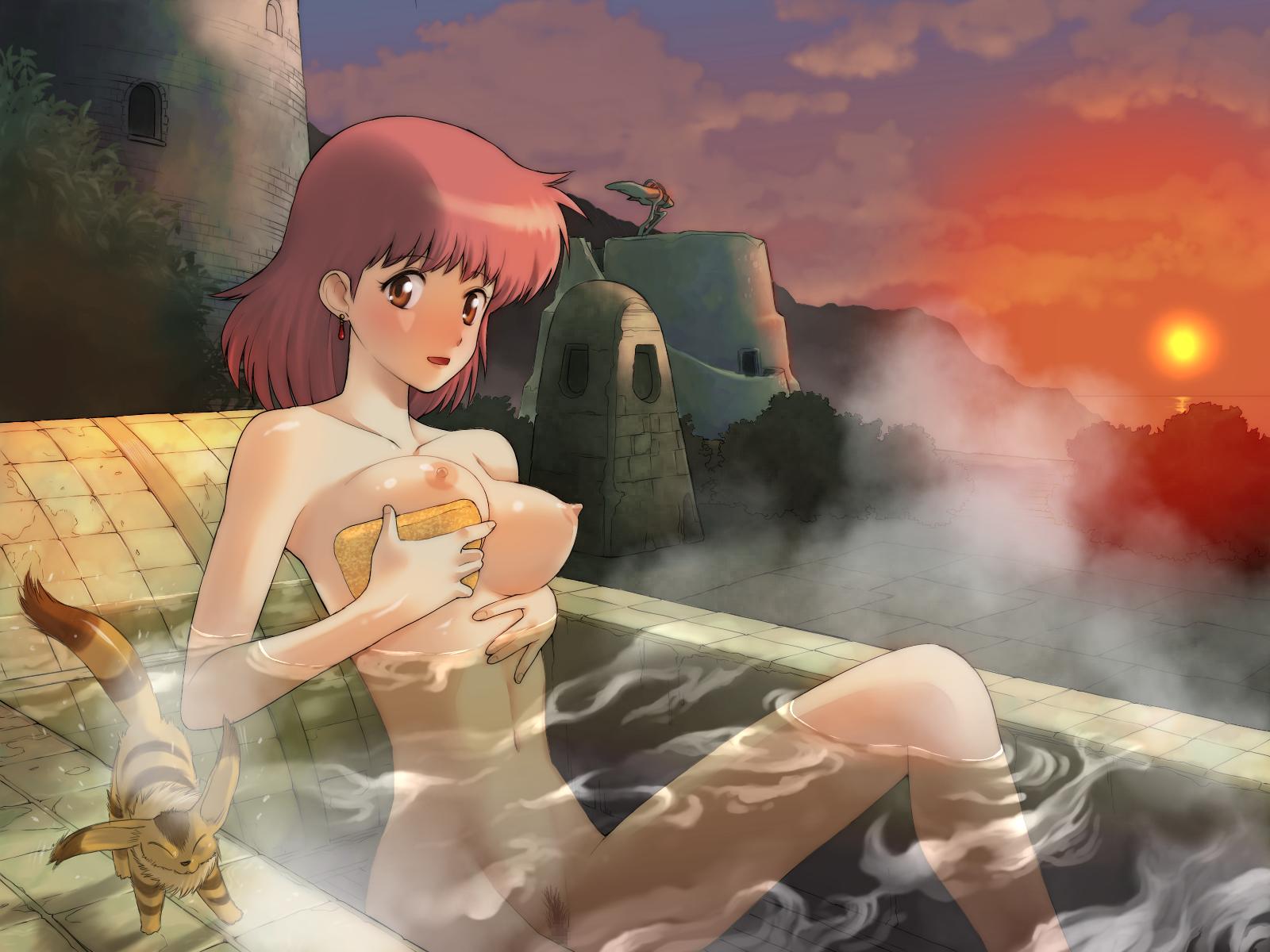 Sexy Nausicaa Naked Images