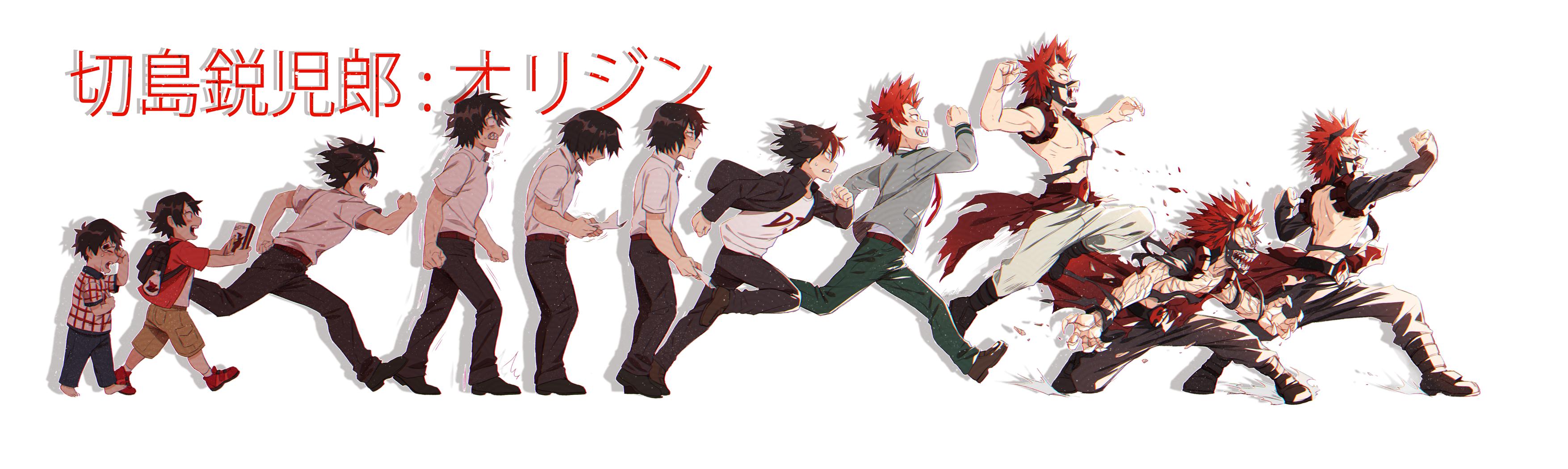 Kirishima Eijirou Boku No Hero Academia Drawn By Lowah Danbooru