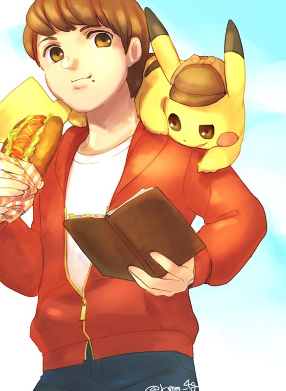 Pikachu Detective Pikachu And Tim Goodman Pokemon And 3 More