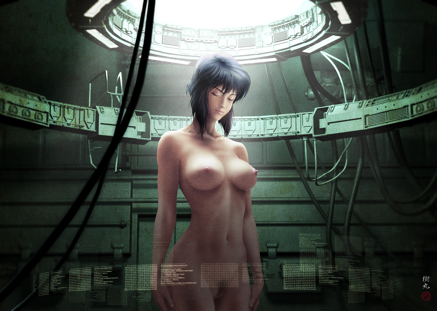 Ghost in the shell motoko nude