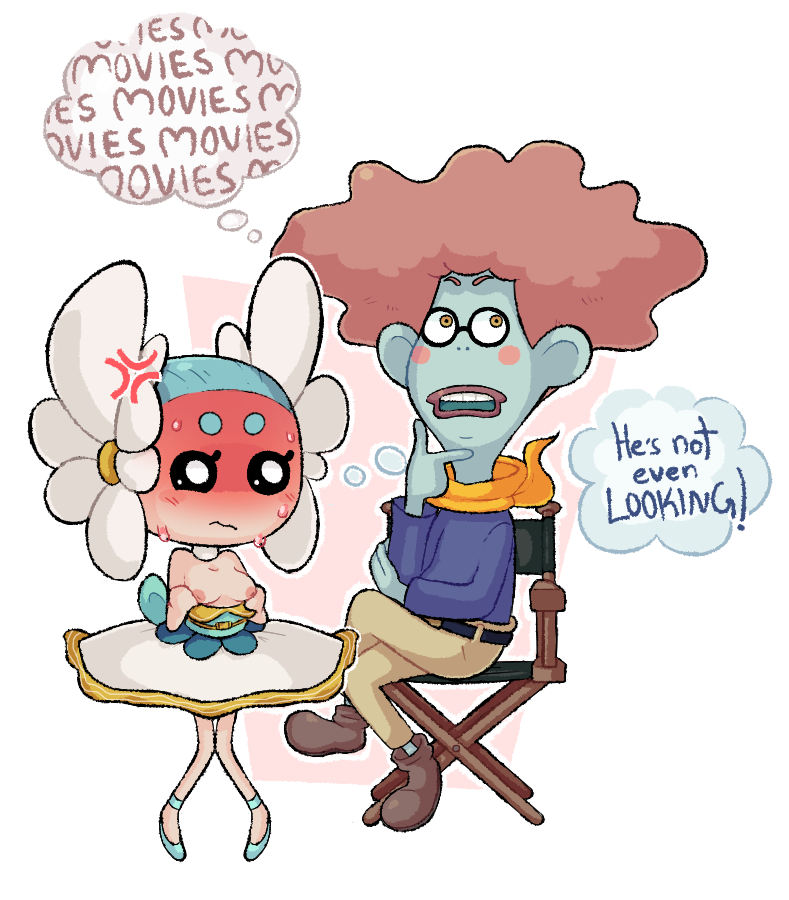 Mister Movien And Netaballerina (youkai Watch) Drawn By