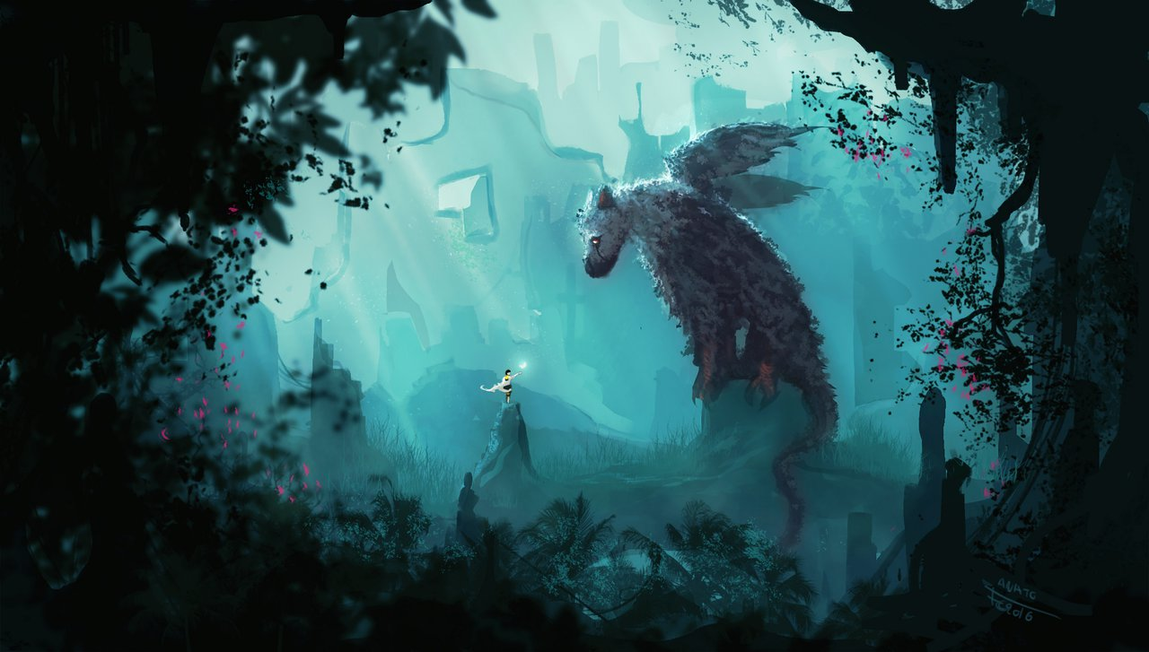 Trico And The Boy The Last Guardian Drawn By Anatofinnstark
