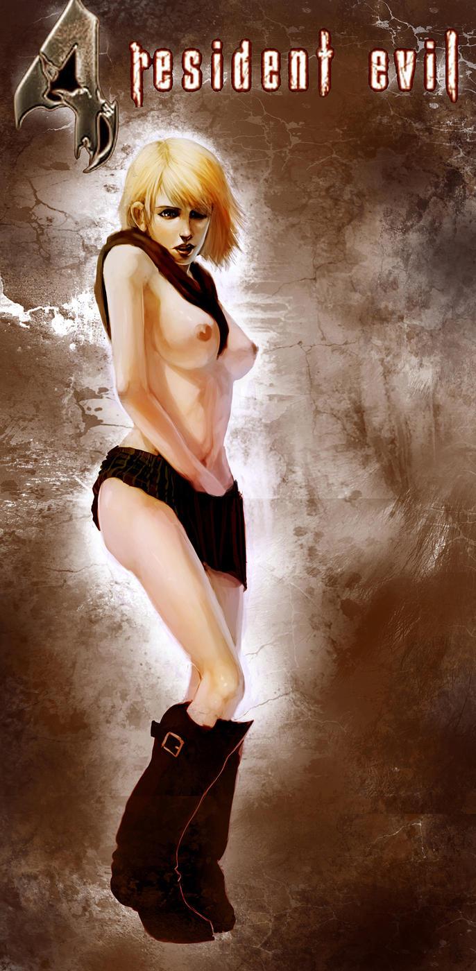 Ashley graham from resident evil naked nsfw image