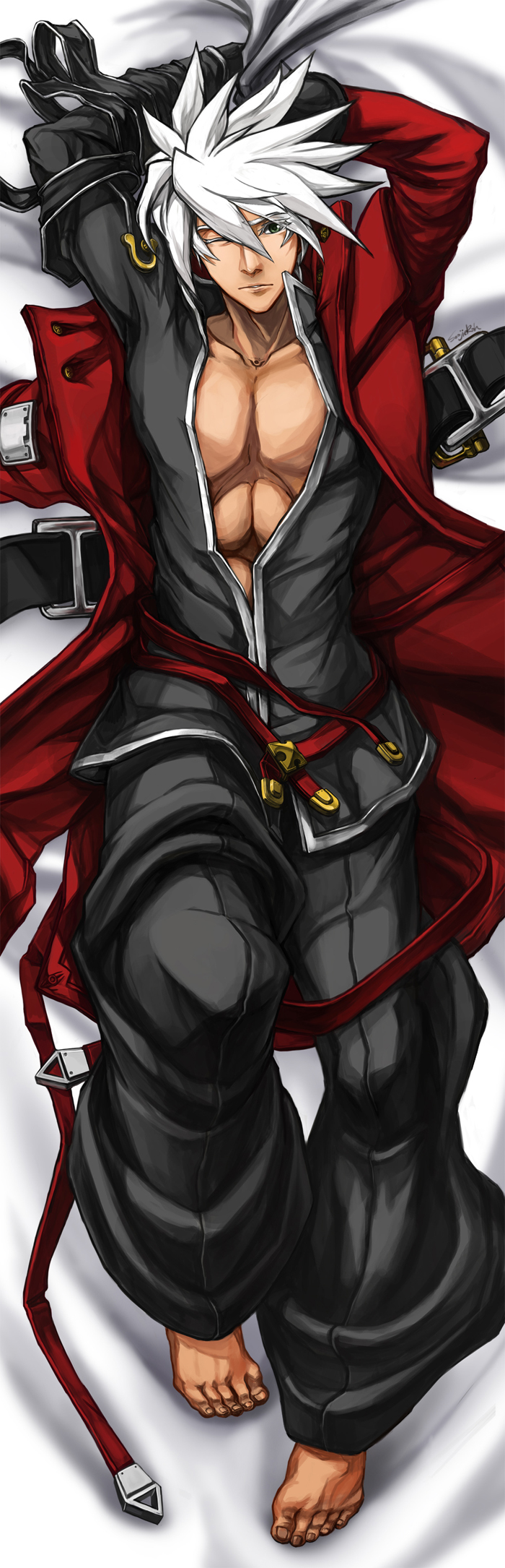 ragna the bloodedge (blazblue) drawn by soojie roh