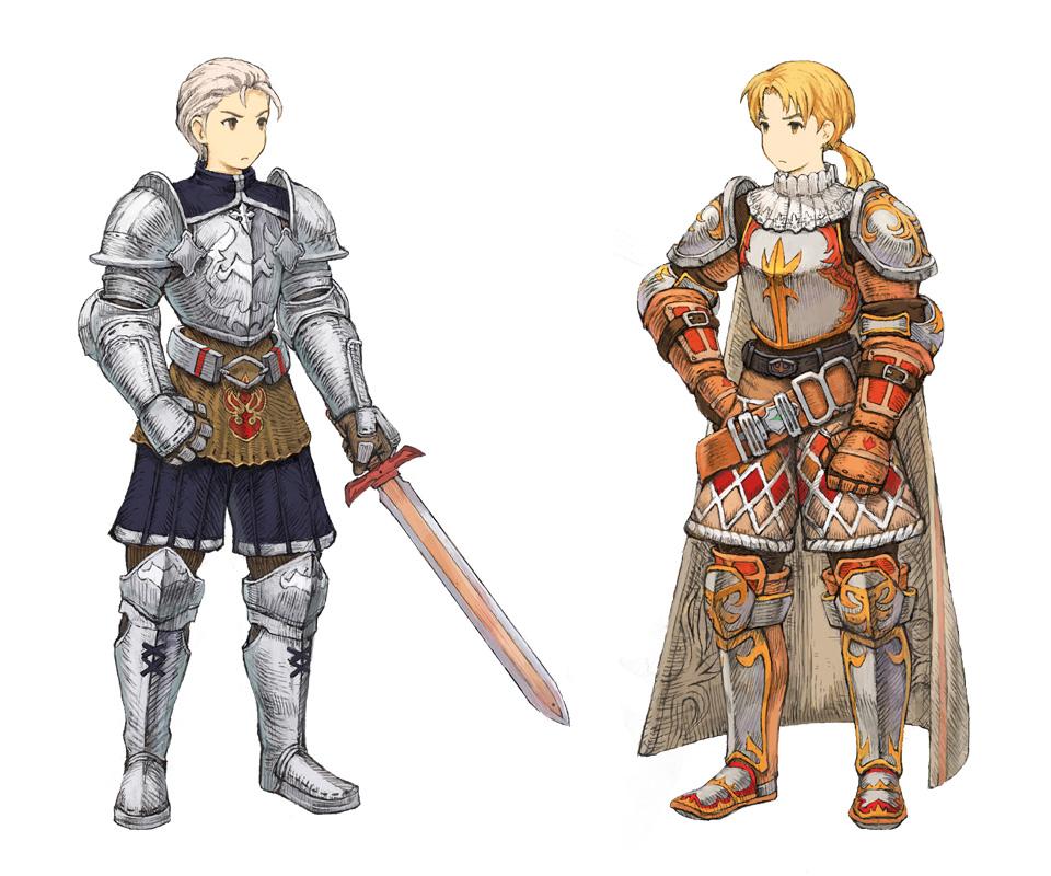Cidolfus Orlandeau And Barbaneth Beoulve Final Fantasy And 1 More Drawn By Iwauchi Tomoki Danbooru