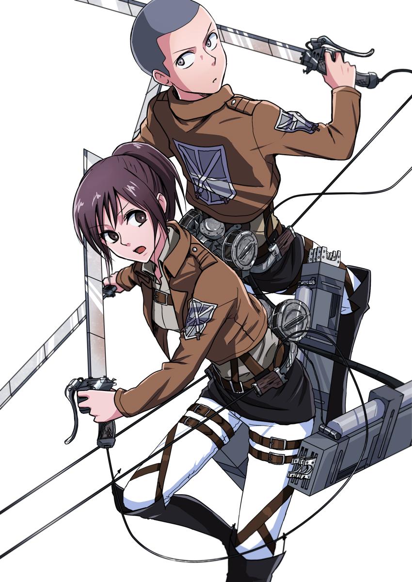 Sasha Shingeki No Kyojin Chibi Dowload Anime Wallpaper Hd