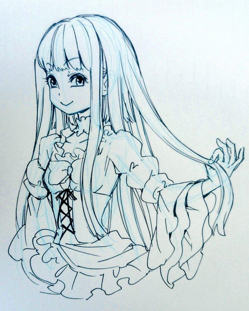 furudo erika (umineko no naku koro ni) drawn by natsumi kei