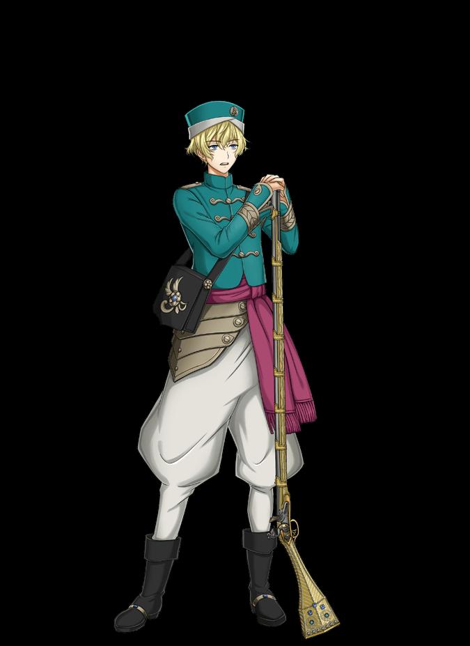 esen (senjuushi: the thousand noble musketeers) drawn by kinoshita sakura