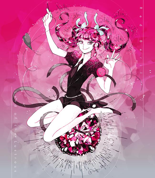 red beryl (houseki no kuni) drawn by eri na