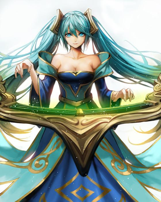 sona buvelle (league of legends) drawn by komecchi