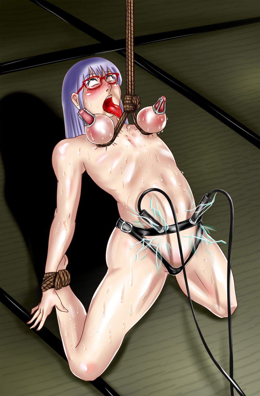 Suspension bondage hentai