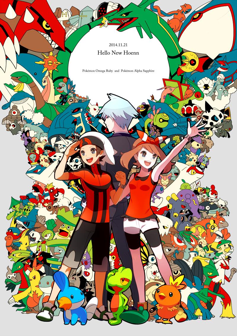 absol, aggron, altaria, anorith, armaldo, and others (pokemon, pokemon (game), and pokemon oras) drawn by himari g (sr)