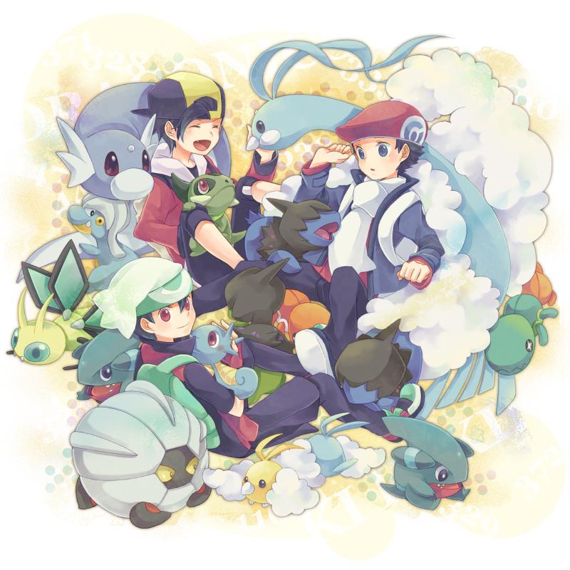 altaria, axew, bagon, deino, dratini, and others (pokemon, pokemon (game), pokemon dppt, pokemon hgss, and pokemon rse) drawn by azurebloom