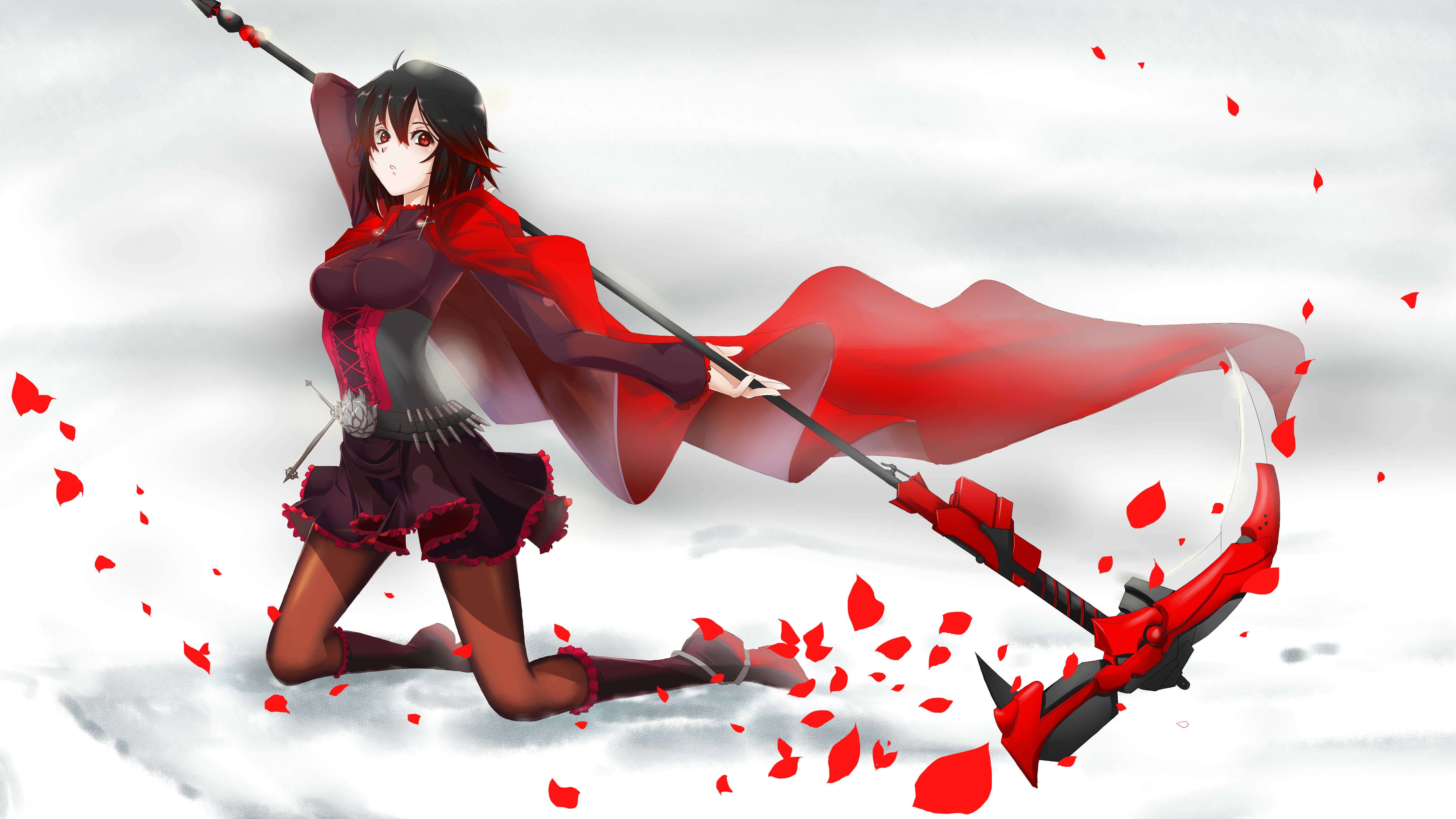 Ruby rose rwby drawn by sushu danbooru - Ruby rose rule 34 ...