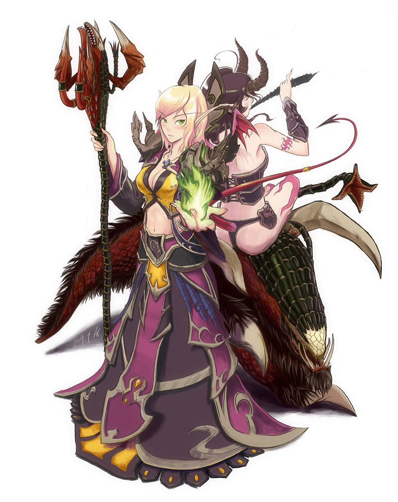 Jizzart warlock and succubus hentia singles