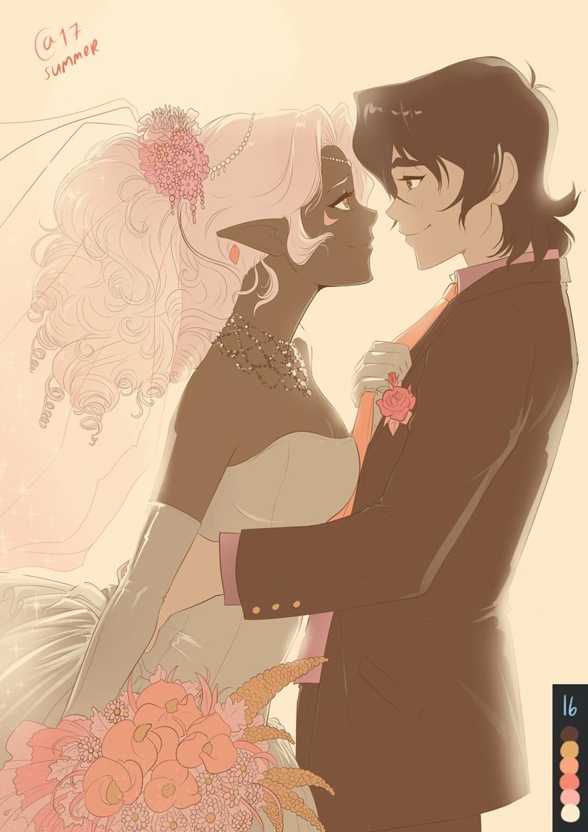 __keith_and_princess_allura_hyakujuu_ou_