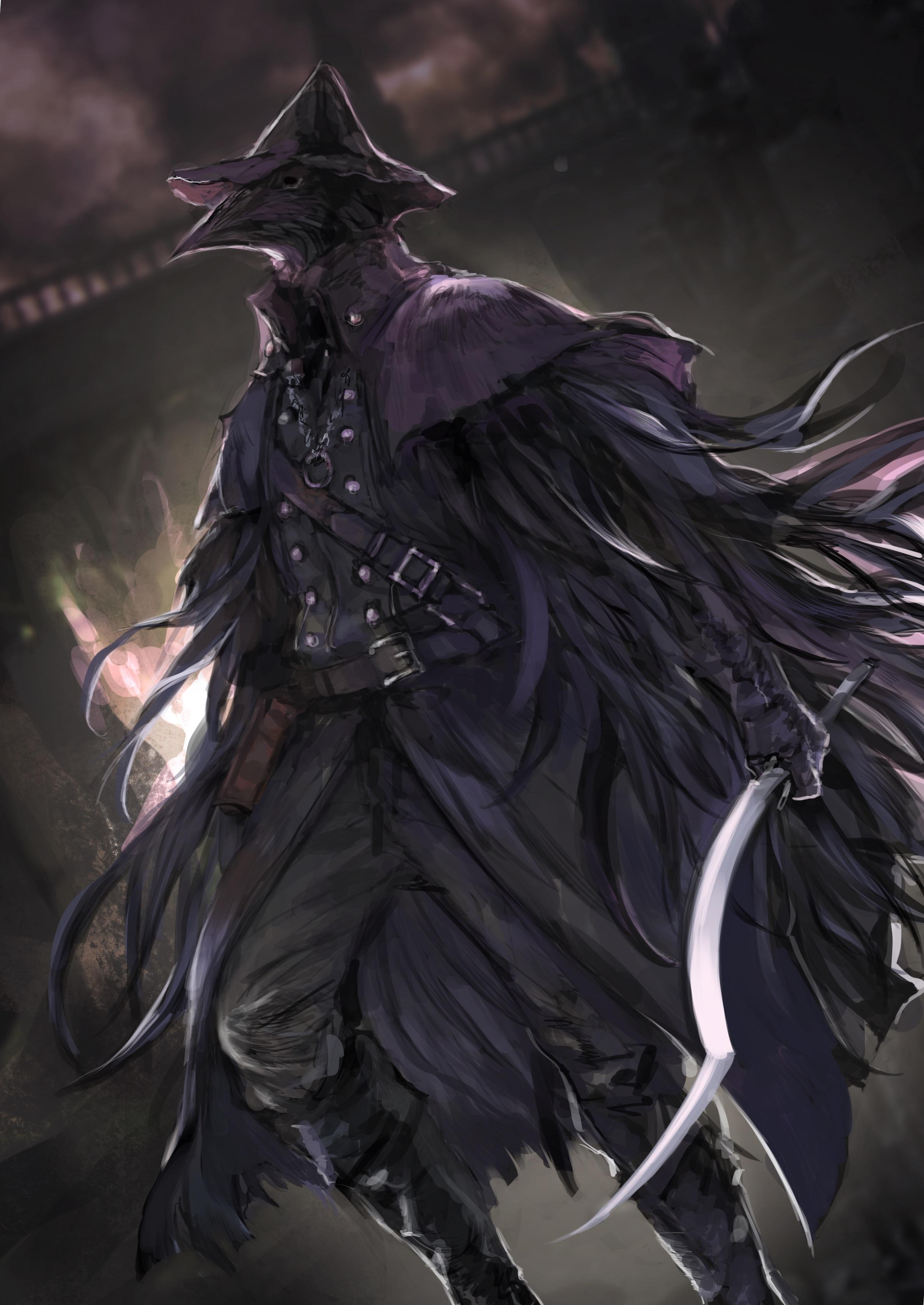 Anna Bloodfallen [Ficha] __eileen_the_crow_bloodborne_drawn_by_nira_nira_box__ec450de8f5d326871aded4a458b5578c