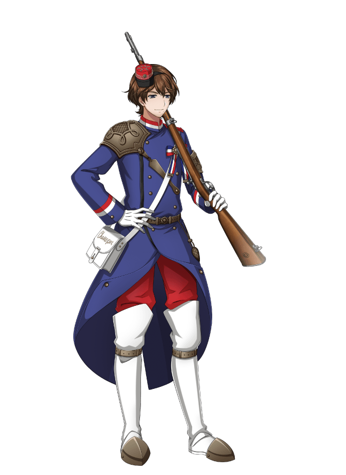 chassepot (senjuushi: the thousand noble musketeers) drawn by kinoshita sakura
