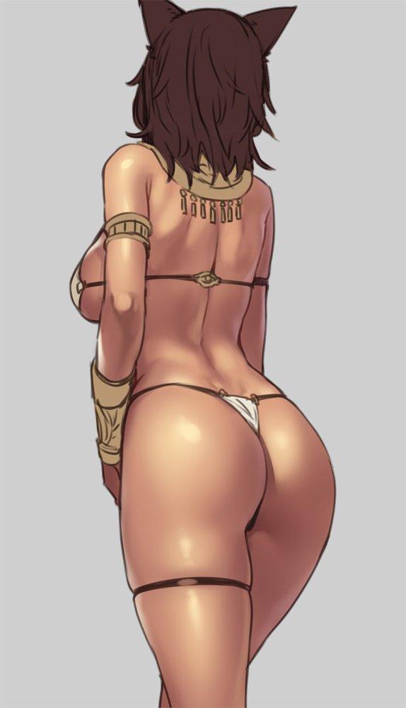 bastet (egyptian mythology and original) drawn by houtengeki