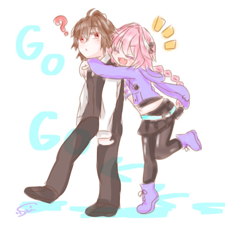 astolfo and sieg (fate/apocrypha and fate (series)) drawn by h2o (@h2osu5)