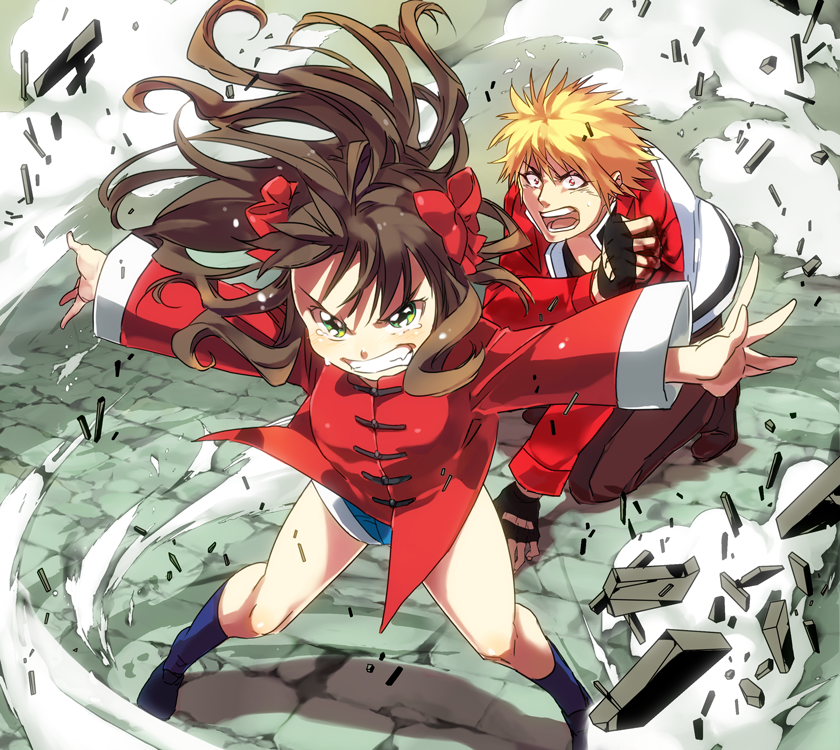 Arima Miyako And Rock Howard Fatal Fury M U G E N Mark