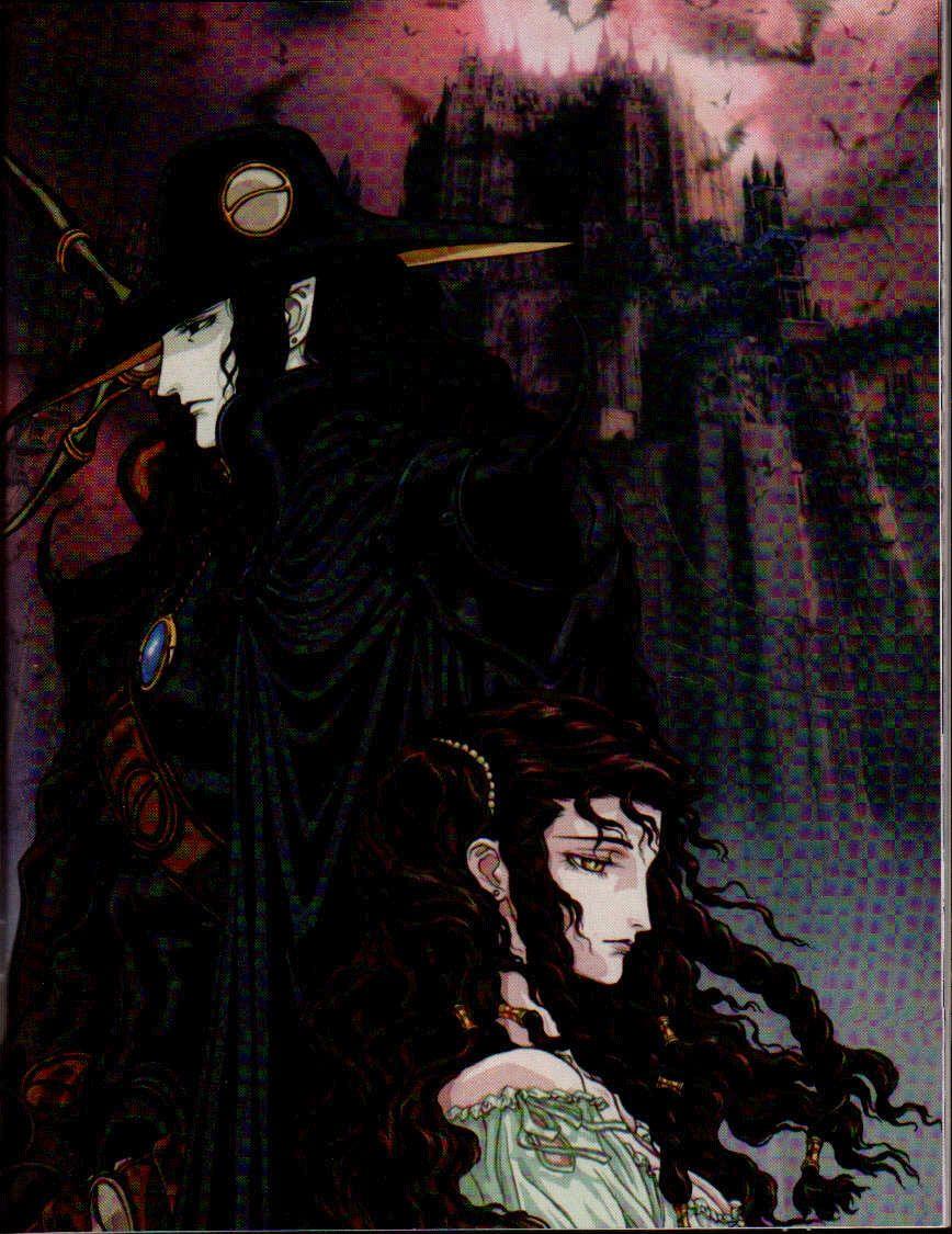 D And Charlotte Elbourne Vampire Hunter D And 1 More Danbooru