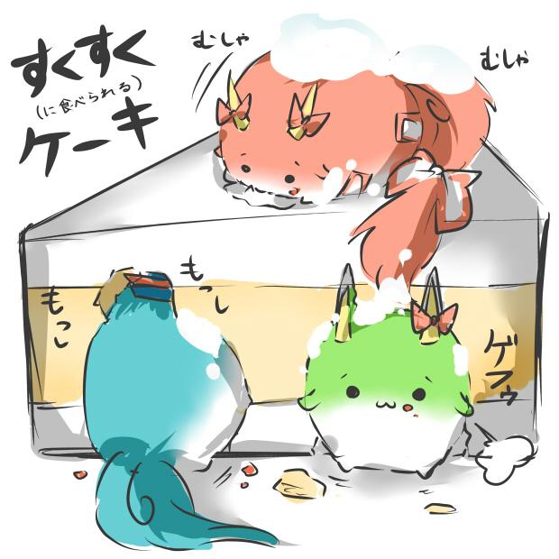 ex-keine, fujiwara no mokou, kamishirasawa keine, and kamishirasawa keine (touhou) drawn by rebecca (keinelove)