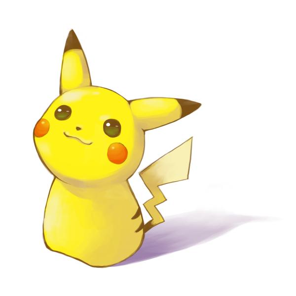 pikachu (pokemon) drawn by riku (me-in)