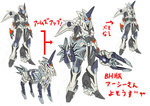 1girl animalization arcee autobot breasts horn kamizono_(spookyhouse) kirin_(monster_hunter) machine machinery mecha mechanical_wings mechanization monster_hunter no_humans redesign robot science_fiction shield solo sword transformers transformers_prime translation_request unicorn weapon wings zebra