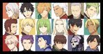 47_(479992103) 6+boys achilles_(fate) arash_(fate) archer beowulf_(fate/grand_order) black_hair blonde_hair blue_eyes brown_hair closed_eyes collage cu_chulainn_(fate/grand_order) earrings enkidu_(fate/strange_fake) fate/apocrypha fate/extra fate/grand_order fate/prototype fate/prototype:_fragments_of_blue_and_silver fate/stay_night fate/strange_fake fate_(series) fujimaru_ritsuka_(male) gilgamesh green_hair hector_(fate/grand_order) jekyll_and_hyde_(fate) jewelry karna_(fate) king_hassan_(fate/grand_order) lancelot_(fate/grand_order) lancer looking_at_viewer looking_to_the_side looking_up male_focus multiple_boys napoleon_bonaparte_(fate/grand_order) orange_hair ozymandias_(fate) purple_hair red_eyes robin_hood_(fate) silver_hair vlad_iii_(fate/apocrypha) white_hair yagyuu_munenori_(fate/grand_order)