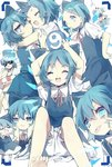 (9) 6+girls :3 >_< ^_^ akanbe alternate_hairstyle barefoot bikini bloomers blue_bikini blue_dress blue_eyes blue_hair cirno closed_eyes commentary_request crossed_bandaids dress facing_viewer food food_in_mouth hair_between_eyes hair_ornament hairclip hand_on_hip hands_on_own_cheeks hands_on_own_face highres hug ice ice_wings innertube looking_at_viewer multiple_girls neck_ribbon object_on_head open_mouth orb pointing pointing_at_self popsicle puffy_short_sleeves puffy_sleeves red_ribbon ribbon round_teeth short_eyebrows short_hair short_sleeves smile sunglasses swimsuit teeth tongue tongue_out touhou underwear v-shaped_eyebrows violet_(qs312556616) wings