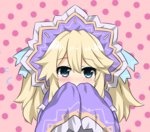 1girl blonde_hair blue_eyes blush choujigen_game_neptune histoire long_hair neptune_(series) shikniful solo twintails