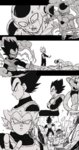 2boys absurdres armor back-seamed_legwear black_eyes black_hair crossed_arms dragon_ball dragon_ball_z dragon_ball_z_fukkatsu_no_f frieza frown gloves golden_frieza greyscale highres looking_at_another looking_at_viewer looking_away looking_back monochrome multiple_boys open_mouth outstretched_arms outstretched_hand seamed_legwear serious simple_background smile spiked_hair star super_saiyan_blue surprised tail tkgsize vegeta white_background